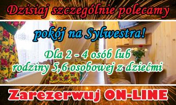 Rezerwacja on-line Pakiet Sylwestrowy