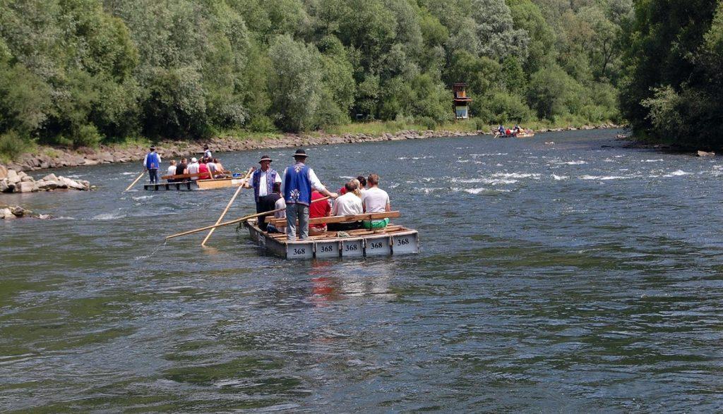 Zakopane spływ Dunajcem